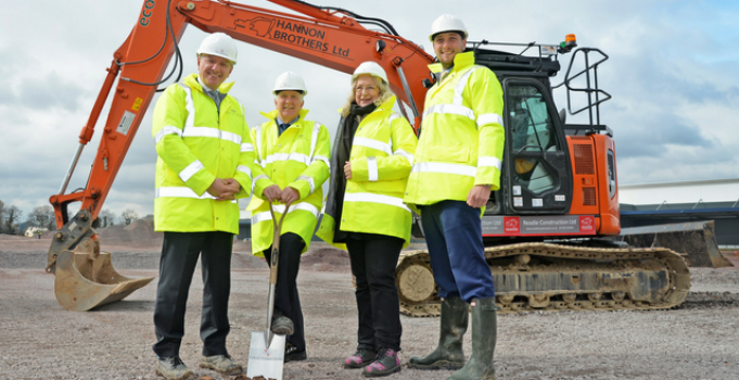 New development under way at Four Ashes employment site