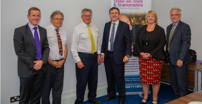 £70m jobs and growth partnership showcased to Small Business Minister
