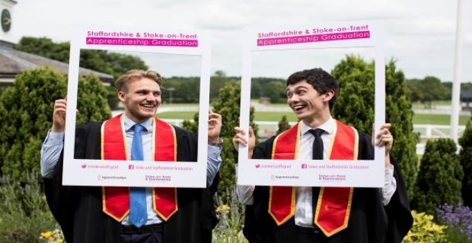 Apprentices take to the stage for graduation