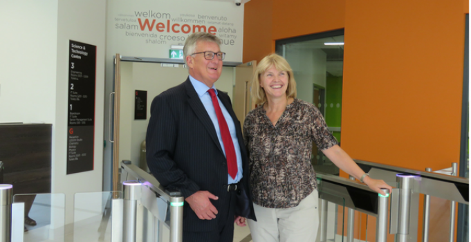 Science & Technology Centre unveiled at Stafford College