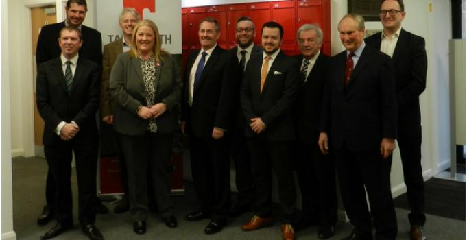 International Trade Secretary visits Tamworth Enterprise Centre