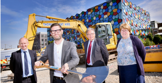 Construction begins at Stoke-on-Trent's new Hilton