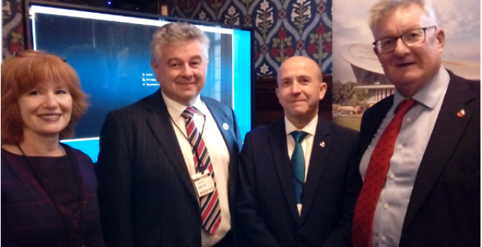 Celebrating Staffordshire with Parliamentary showcase
