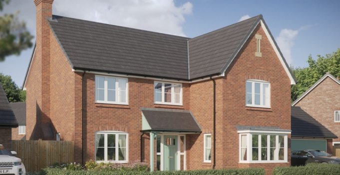 First new homes unveiled at major Branston Locks development