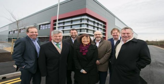 Work completed on units at £45million Liberty Park Lichfield