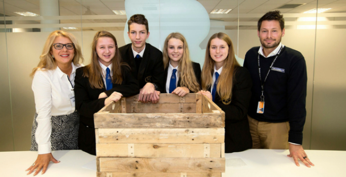 Young Enterprise teams pitch to Staffordshire 'Dragons'