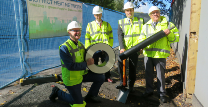 Work starts on District Heat Network sustainable energy scheme