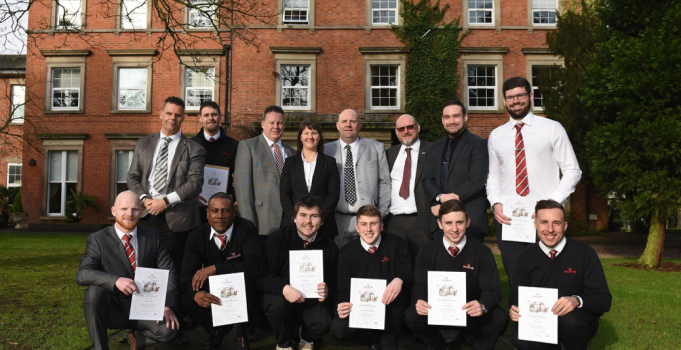 South Staffordshire College and Redrow Homes celebrate Apprenticeship partnership success