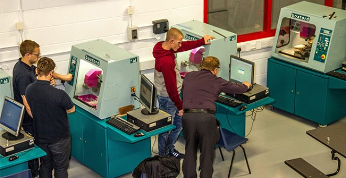 Skills hub helps to boost new engineer numbers in Staffordshire
