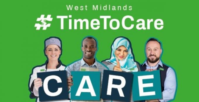 """Urgent appeal goes out to workers across the West Midlands: """"join us now to protect and save lives in care homes"""""""