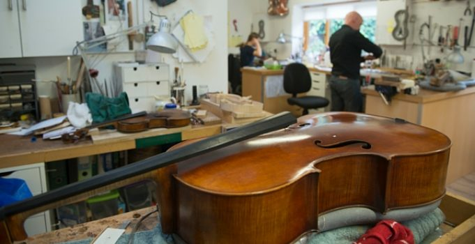 Growth Hub helps violin experts add a new string to their bow