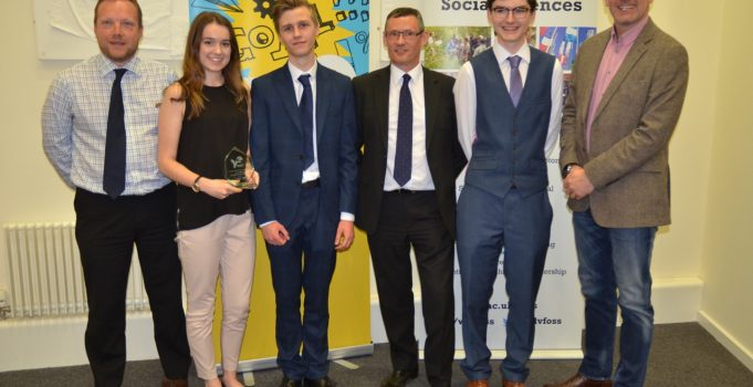 Staffordshire pupils crowned West Midlands Best Company at Young Enterprise Regional Final