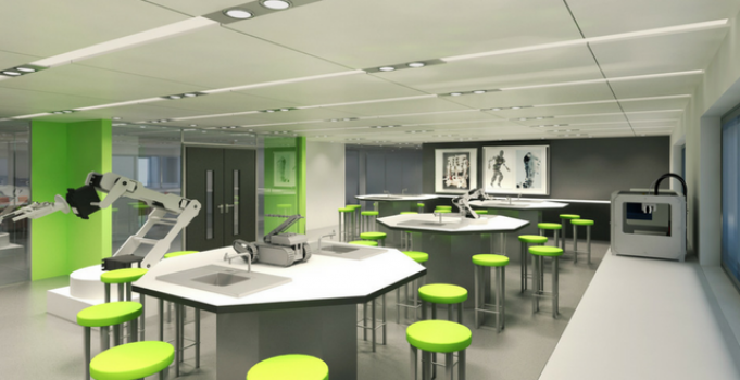 £3.5m Science & Technology centre for Stafford College