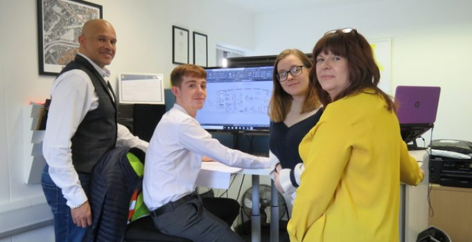 Rugeley surveying firm sets foundations for success, with Growth Hub support